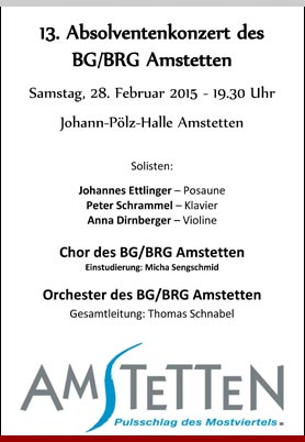 Absolventenkonzert am 01.03.2014
